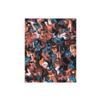 super Wirbles abstraktes Leinwanddruck