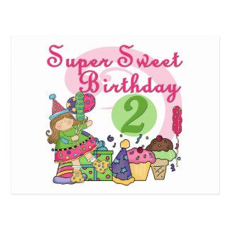 Superbonbon-2. Geburtstags-T - Shirts und Postkarte