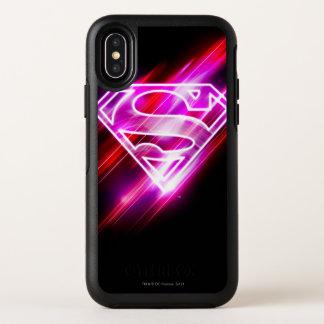 Supergirl Rosa OtterBox Symmetry iPhone X Hülle