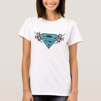 Supergirl Stammes- Muster-Logo T-Shirt