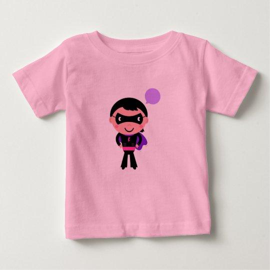 Superheldjunge: Designer-rosa T-Shirt