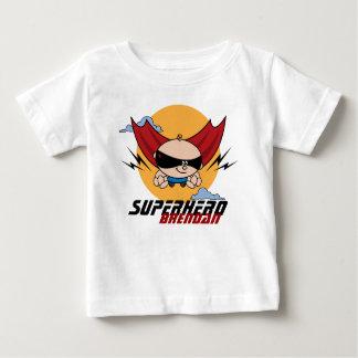 Superhero-Fliegen-Kleinkind-Licht-T - Shirt