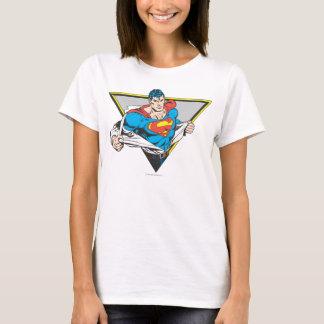 Superman a indiqué t-shirt