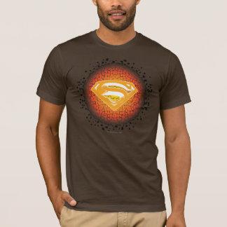Superman a stylisé le logo de craquement de | t-shirt