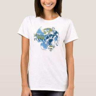 Superman | défendant la planète t-shirt