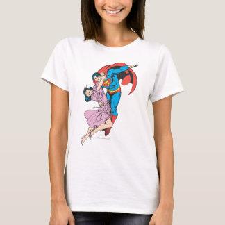 Superman et Lois dans le rose T-shirt
