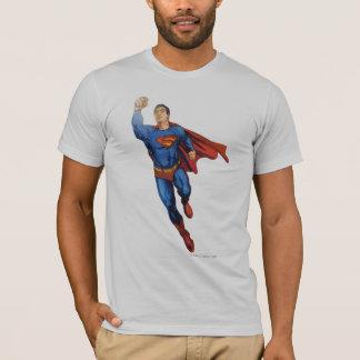 Superman volant à gauche t-shirt