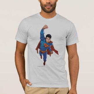 Superman volant en avant t-shirt