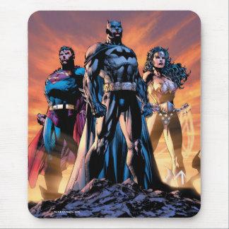 Supermann, Batman u. Wunder-Frauen-Dreiheit Mousepads