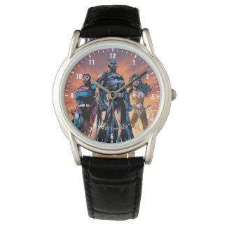 Supermann, Batman u. Wunder-Frauen-Dreiheit Uhren