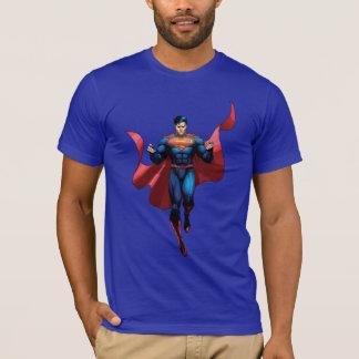 Supermann-Fliegen T-Shirt