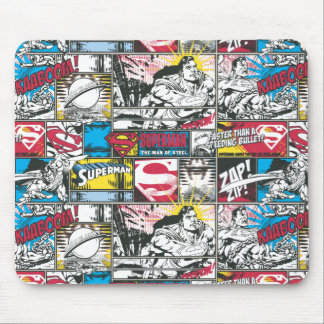 Supermann-Logo-Muster 2 Mousepads