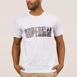 Supermann-Name T-Shirt