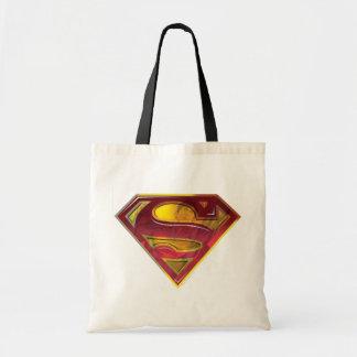 Supermann S-Schild | Reflexions-Logo Budget Stoffbeutel