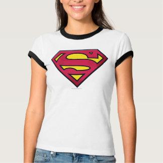 Supermann S-Schild | Schmutz-Logo T-Shirt