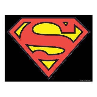 Supermann S-Schild | Supermann-Logo Postkarte