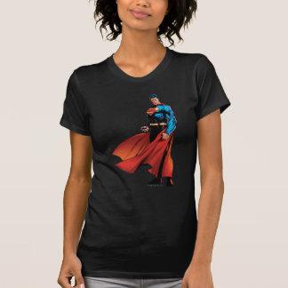 Supermann schaut vorder T-Shirt