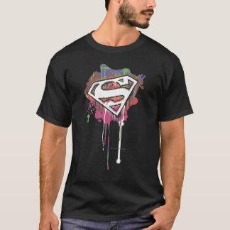 Supermann-stilisiertes | verdrehtes Unschulds-Logo T-Shirt
