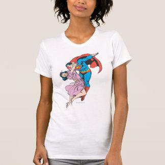 Supermann u. Lois im Rosa T-Shirt