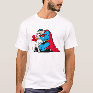 Supermann und Krypto T-Shirt