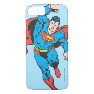 Supermann verlassene Faust angehoben iPhone 8/7 Hülle
