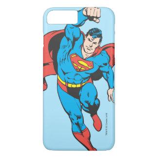 Supermann verlassene Faust angehoben iPhone 8 Plus/7 Plus Hülle