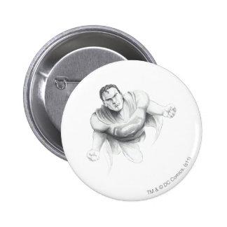 Supermann-Zeichnen Button
