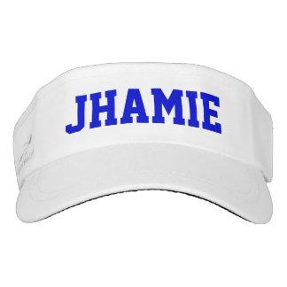 Superstar-blaues personalisiertes visor