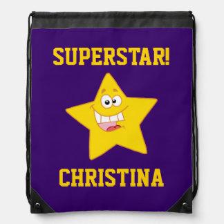 Superstar-Gewohnheit Turnbeutel
