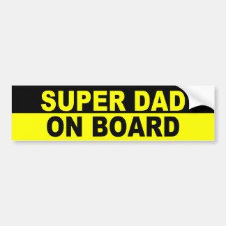 SUPERvati AN BORD Auto Sticker