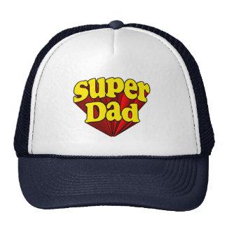 Supervati, Superheld rot/Gelb/der blaue Vatertag Mützen