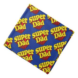 Supervati, Superheld rot/Gelb/der blaue Vatertag Kopftücher