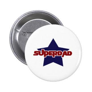 Supervati-Vatertag Anstecknadelbutton