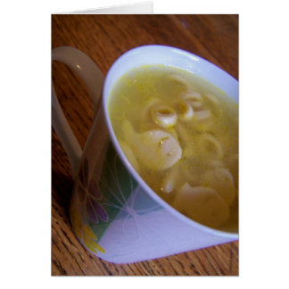 Suppe Grußkarte