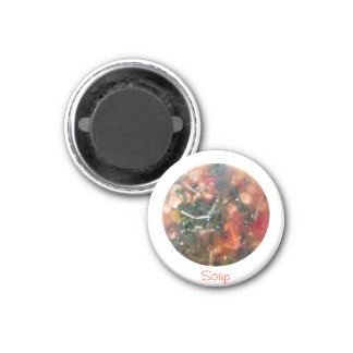 Suppe Runder Magnet 2,5 Cm