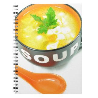 Suppe Spiralblöcke