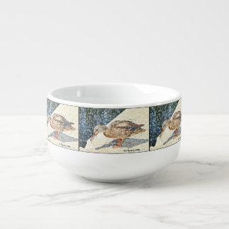 Suppen-Tasse Kronen-König-Ente Große Suppentasse