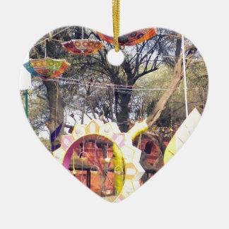 Suraj Kund Party-Baumdekorationen Festivals im Keramik Herz-Ornament