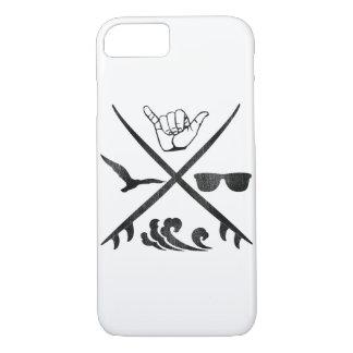 Surf_Logo Vintag iPhone 7 Hülle
