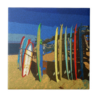 Surfbretter Keramikfliese