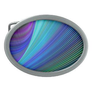 Surfen in eine magische Welle Ovale Gürtelschnallen