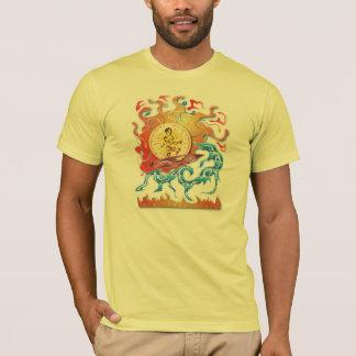 Surfende Aufflackern T-Shirt