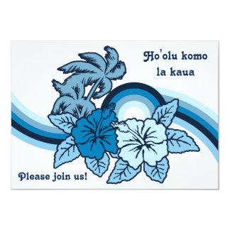Surfende Safari Luau u. GRILLEN Einladungen