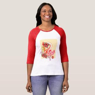 Surfendes T-Shirt für Frauen
