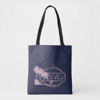 Surfer-Mädchen Pura Vida Strand-Tasche Tasche