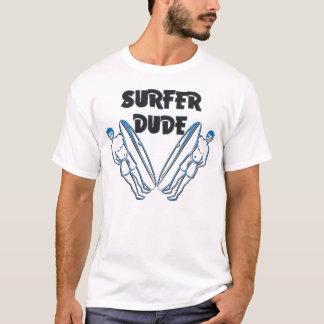 Surfer-Typ T-Shirt