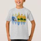 Surfer und Surfbretter T-Shirt
