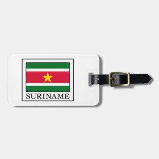Surinam Kofferanhänger