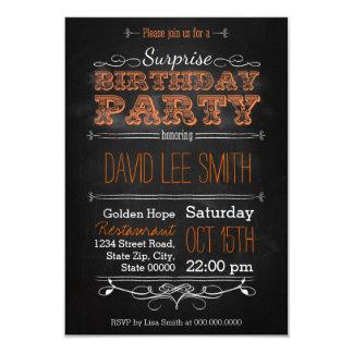 Surprise Birthday Party 8,9 X 12,7 Cm Einladungskarte
