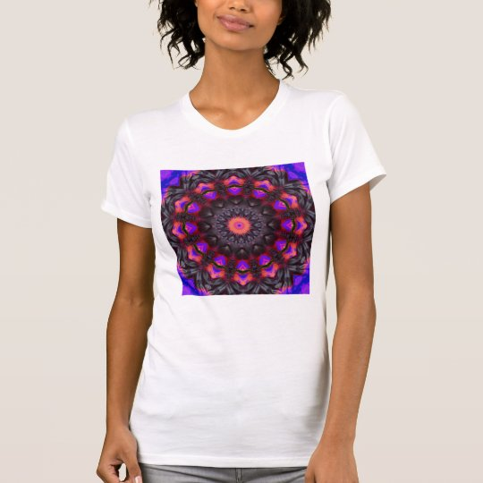 Surreal Blüten, BlumeMandala T-Shirt